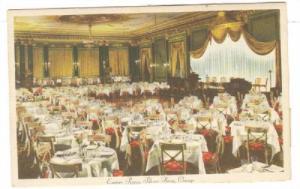 Interior, Empire Room, Palmer House, Chicago, Illinois,PU-1945