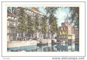 Gelderse Kade met Schreiers Toren, Amsterdam, 1910-1930s