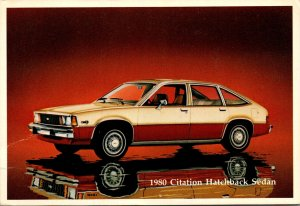 1980 Chevrolet Citation Hatchback Sedan