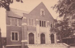 Poindexter Memorial Sunday School Building, Methodist Church, Raleigh,NC 00-10s