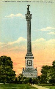 Canada - Ontario, Queenston Heights, Niagara. Brock's Monument