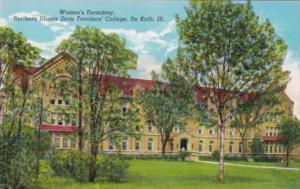 Illinois De Kalb Women's Dormitory Northern Illinois State Teachers College C...