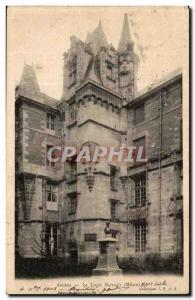 Angers Old Postcard Barrault the house (museum)