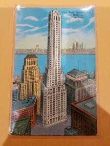 Antique Postcard, City Bank Farmers Trust Building, New York