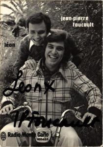 CPM Jean-Pierre Foucault & Léon, MUSIC STAR (718283)