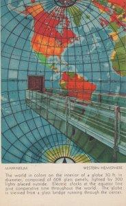 BOSTON , Mass. , 1950 ; Mapparium ; Western Hemisphere