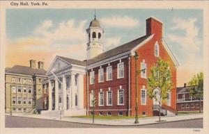 Pennsylvania York City Hall