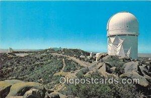Kitt Peak National Observatory Tucson, AZ, USA Unused