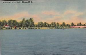 North Carolina Rocky Mount Municipal Lake