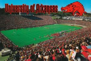 University of Arkansas Razorbacks at Fayetteville - Hogs at Football Stadiium