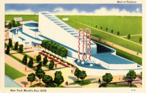NY - New York World's Fair, 1939. Hall of Fashion