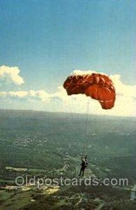Parachutees, Orange, Mass. USA Orange Mass. Unused