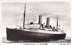 RP, Steamer/Ship/Oceanliner, Canadian Pacific S. S. Montclare, 1920-1940s