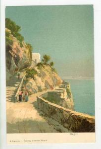 Scene In Capri (Naples), Campania, Italy, 1900-1910s