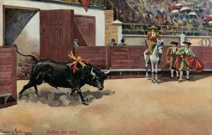 Spain Bullfighting Salida del toro 01.79