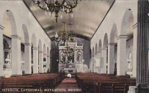 Interior, Cathedral, Matamoros, Mexico, 1900-1910s