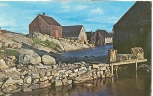 Canada, Peggy's Cove, Nova Scotia, used Postcard