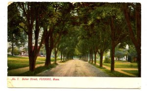 MA - Foxboro. Baker Street   (damaged corners)