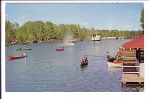 Bowness Park Calgary,  Alberta, Canoeing, 1967 Centennial Cancel