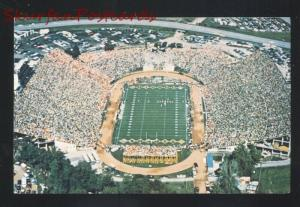 UNIVERSITY OF MISSOURI TIGERS FAUROT FIELD FOOTBALL STADIUM OLD POSTCARD