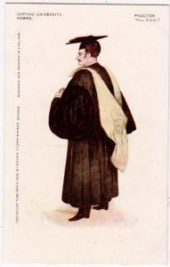 Oxford University Robes, Proctor