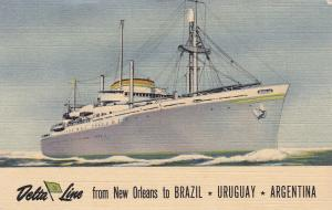 Steamers: Delta Line from New Orleans to Brazil, Uruguay & Argentina, 30-40s