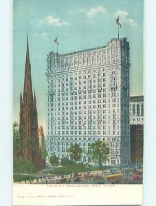 Pre-1907 TRINITY BUILDING New York City NY H7239