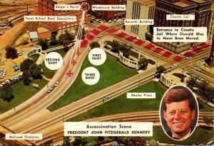 Texas Dallas President John Fitzgeralad Kennedy Assassination Site