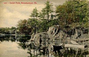 ME - Kennebunkport. Sunset Rock