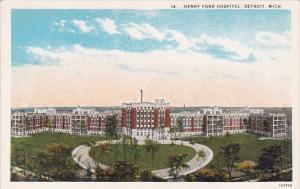 Henry Ford Hospital Detroit Michigan