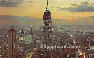 Empire State Building New York City NY Unused