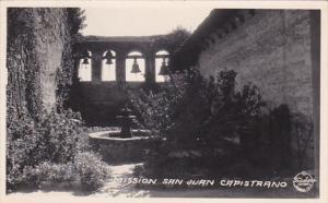 California Mission San Juan Capsitrano Real Photo