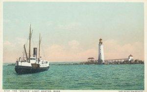 BOSTON , Mass. , 1900-10s ;  Graves LIGHTHOUSE # 3
