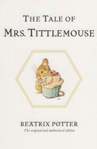 The Tale Of Mrs Tittlemouse Beatrix Potter Book Postcard
