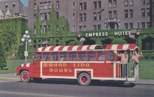 TWEED Lines tour Bus , Victoria , B.C. , Canada , 1963