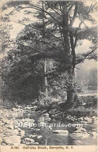 Half Way Brook Barryville NY 1914 missing stamp