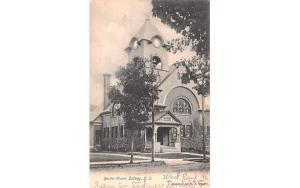 Baptist Church Sidney, New York Postcard