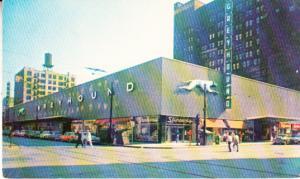 Greyhound Bus Terminal 1959
