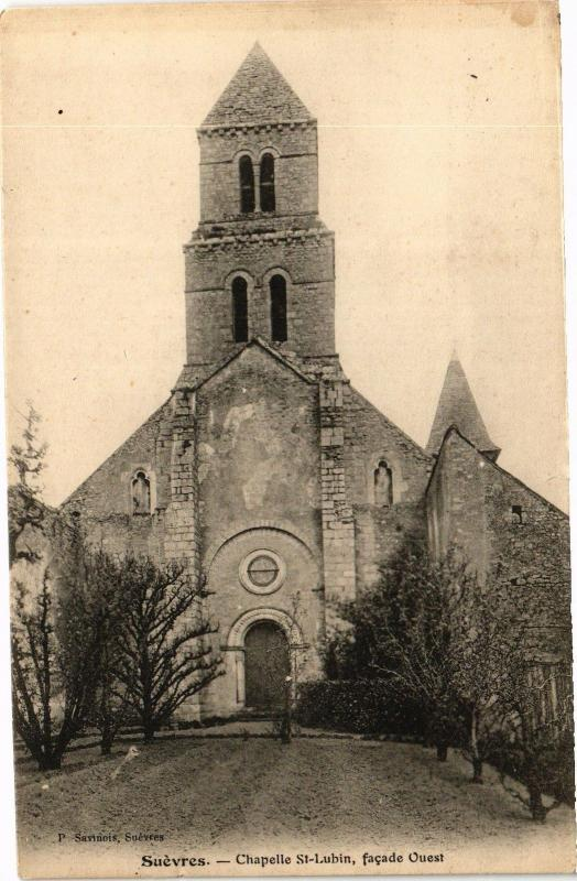 CPA SUEVRES - Chapelle St-Lubin facade Ouest (208085)