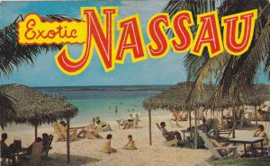 Paradise Beach, Exotic Nassau in the Bahamas, 40-60s