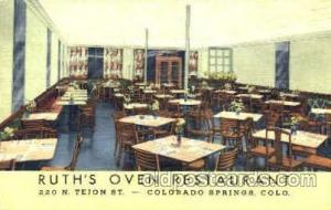 Ruth's Oven Rest. Colorado Springs, Co. USA Postcard Post Card Ruth'...