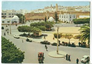 Tunisia, Tunisie, Sousse, City Center, used Postcard