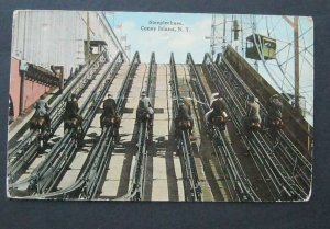 Steeplechase Coney Island New York 1915 H F & Son 722