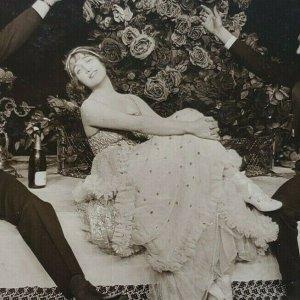Gaby Deslys Harry Pilcer Basil Hallam Film Theatre Actress Actor Postcard F103