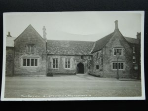 Oxfordshire Shipton under Wychwood THE CROWN INN - Old RP Postcard by F. Packer