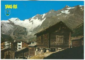 Switzerland, Saas-Fee, unused Postcard