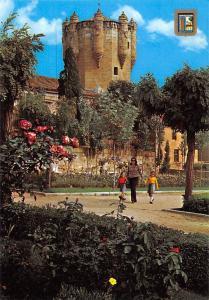 Spain Salamanca Clavero Tower and Gardens Torre de Clavero y Jardines