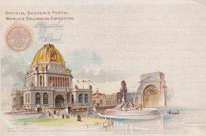 CHICAGO, Illinois, 1893; Administration, World's Columbian Exposition