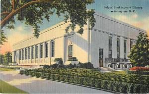 Folger Shakespeare Library, Washington, DC, 1944 Linen