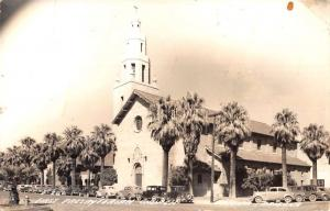 Phoenix Arizona First Presbyterian Church Real Photo Antique Postcard K29995